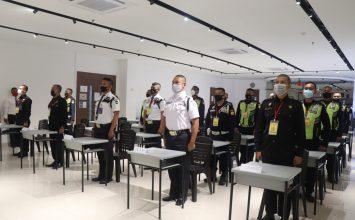 Pelatihan Satpam Gada Madya di Batam - PTP Training Center - angkatan IX - Security