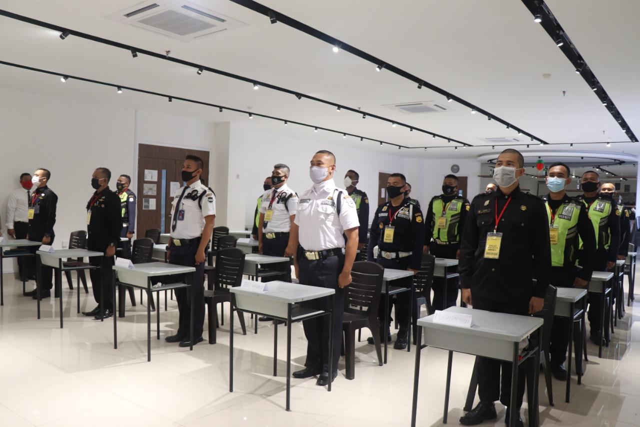 Puluhan Peserta Satpam, Ikuti Pelatihan Peningkatan Kompetensi Gada Madya angkatan IX tahun 2020