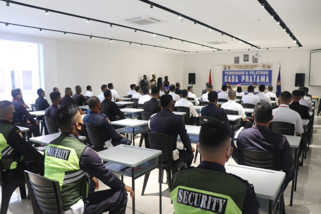 Pelatihan Satpam Gada Pratama di Kota Batam - Angkatan LII 52 - PTP Training Center