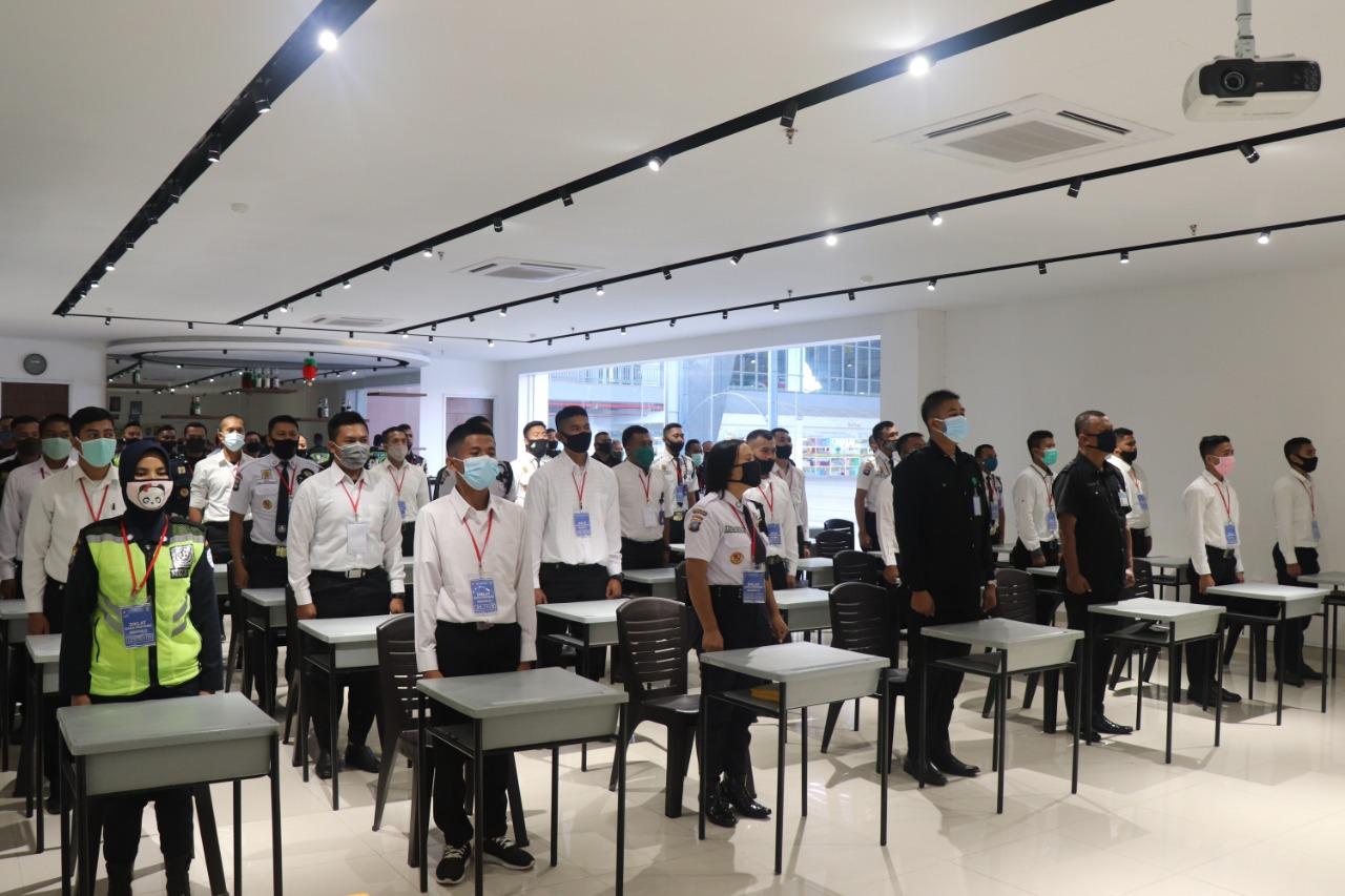 PTP Gelar Pelatihan Satpam Angkatan LII, Tingkatkan Kompetensi Diri Para Satpam