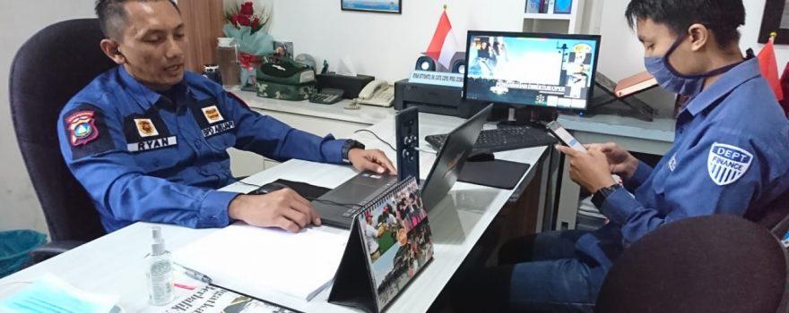 Pengarahan Pimpinan untuk Chief Security dan Leader Satpam