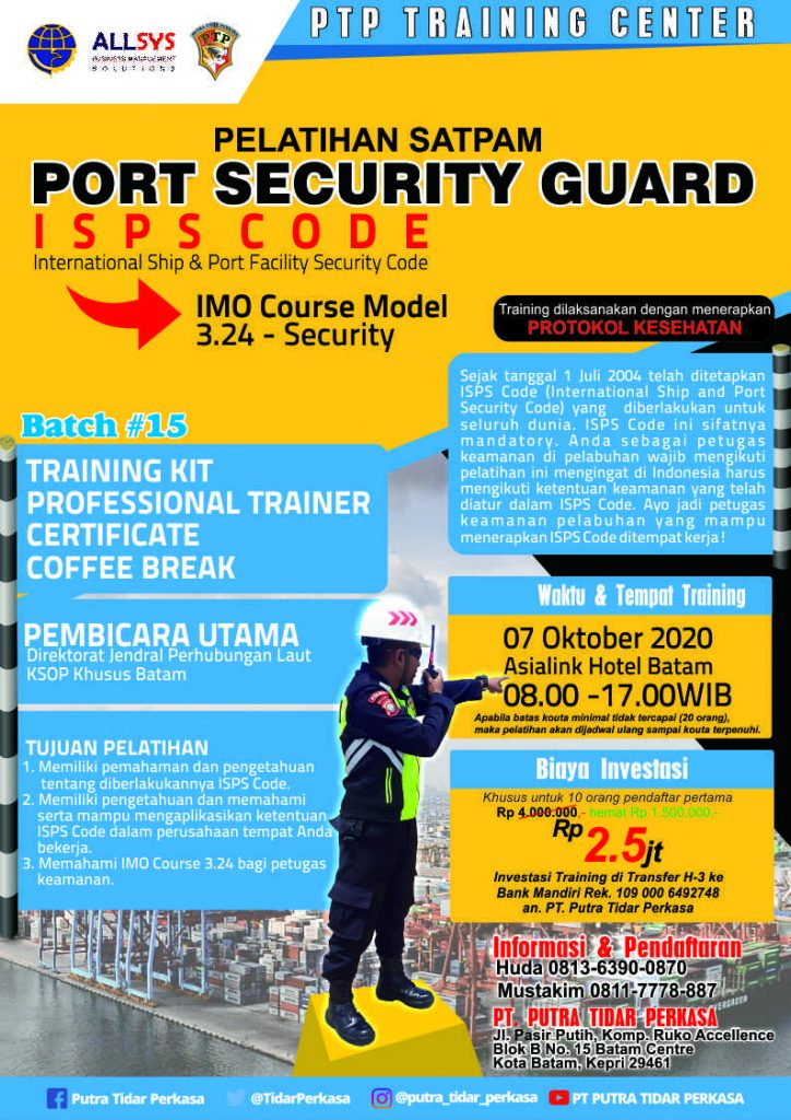 Port Security Guard - 07 Okt 2020 -ptp