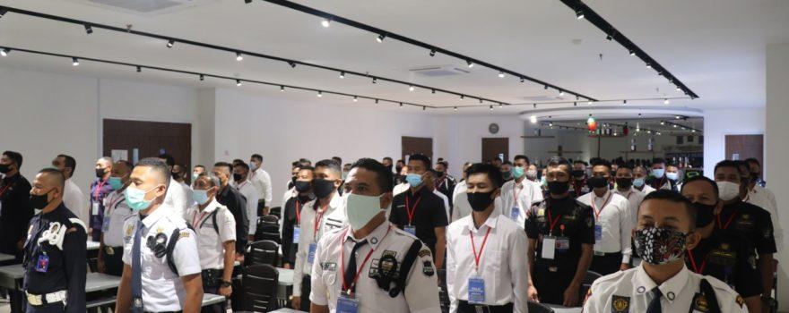 Pelatihan Satpam Gada Pratama - angkatan LIII - PTP Training Center