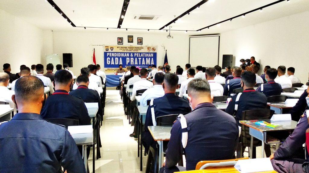 Pelatihan Satpam Gada Pratama - angkatan LIII - PTP Training Center - Batam