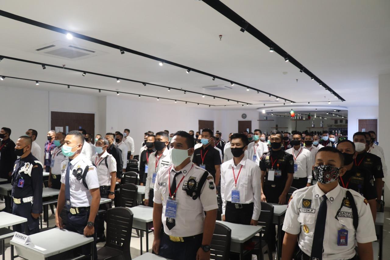 Gada Pratama Angkatan LIII Terapkan Prokes Selama Pelaksanaan Pelatihan