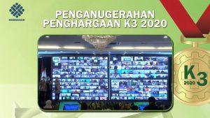 Raih Dua Penghargaan Sekaligus Dalam Penganugerahan K3 Tahun 2020 Dari  Kemnaker RI, PT PTP: Ini Tidak Terlepas Dari Usaha Kita Semua