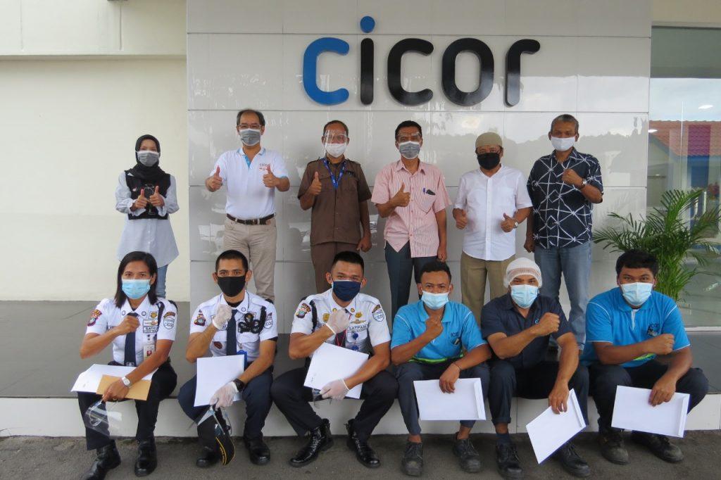 Satpam PTP Tangkap Pencuri dan diapresiasi Perusahaan - Cicor Panatec