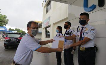 Satpam PTP Tangkap Pencuri dan diapresiasi Perusahaan - jasa keamanan