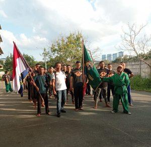Read more about the article 47 Siswa Baru Dojo Macan Tidar Ikut Tradisi Penerimaan Ekskul Yongmoodo PTP