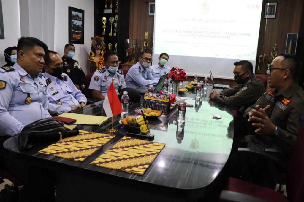 Kerjasama PTP dengan BAPAS kelas II Tanjungpinang