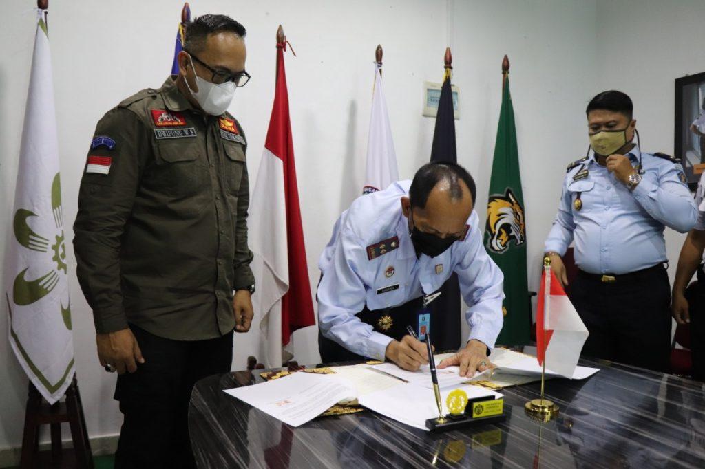 PTP bekerjasama dengan BAPAS kelas II Tanjungpinang