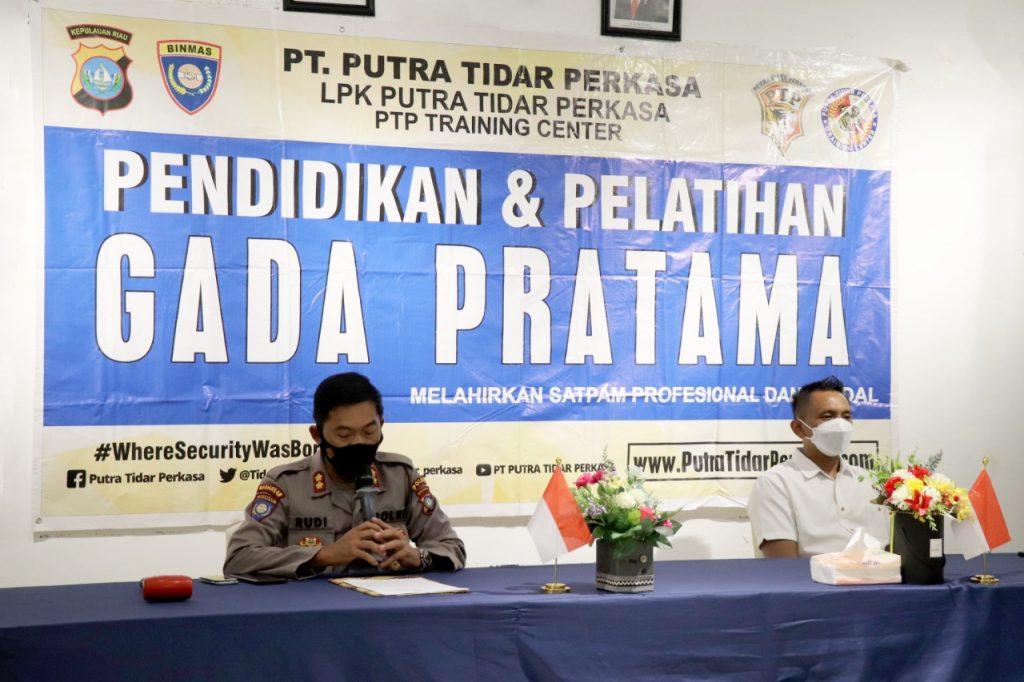 Pelatihan Gada Pratama LVII di Kota Batam - Putra Tidar Perkasa -