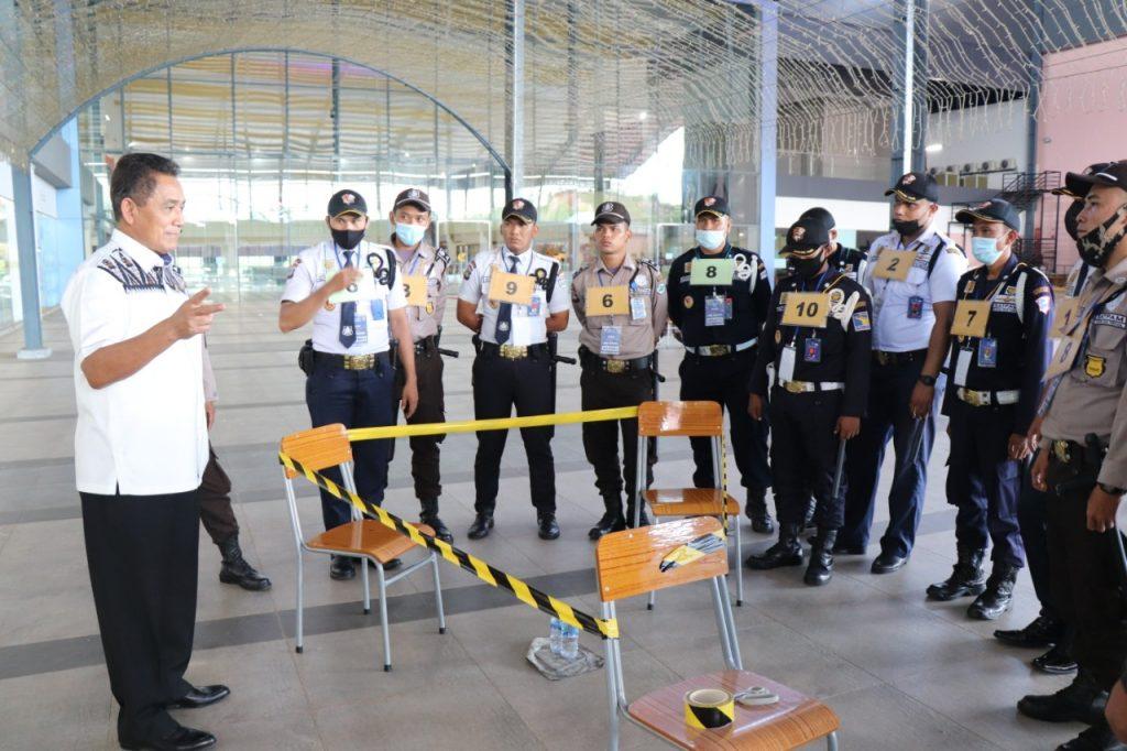 Uji Kompetensi Gada Pratama di Batam - Putra Tidar Perkasa bekerjasama dengan LSP P-2 Sekuriti PP Polri (1)