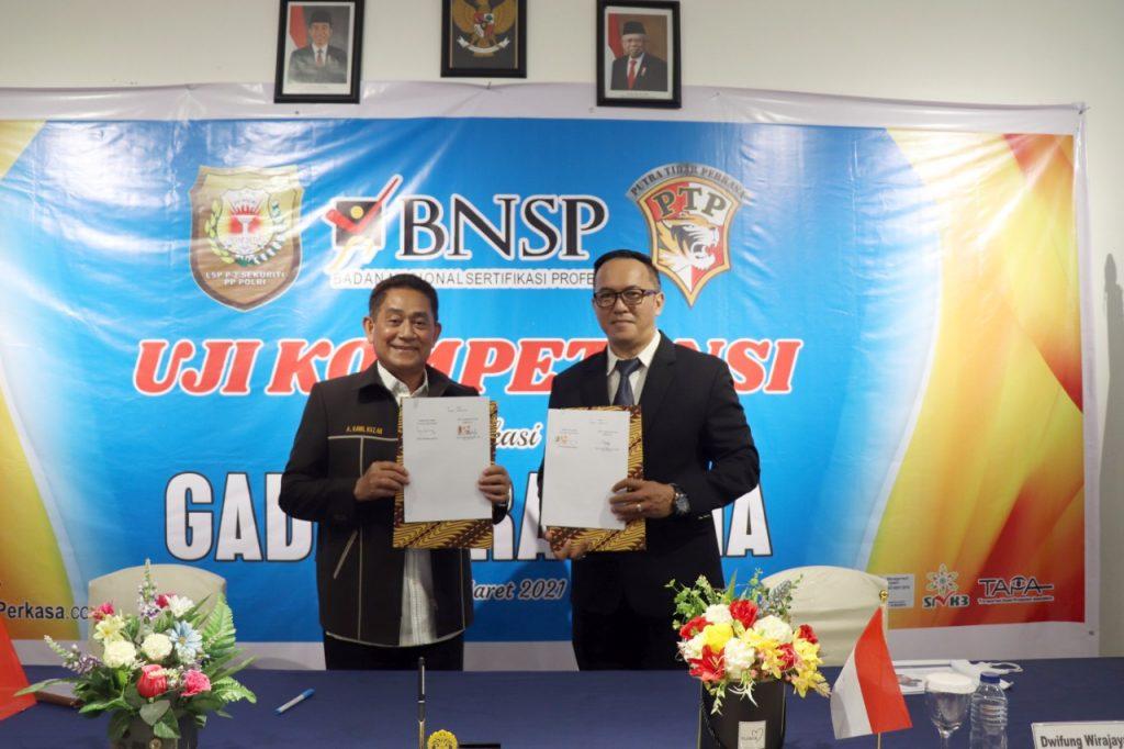Uji Kompetensi Gada Pratama di Batam - Putra Tidar Perkasa bekerjasama dengan LSP P-2 Sekuriti PP Polri (2)