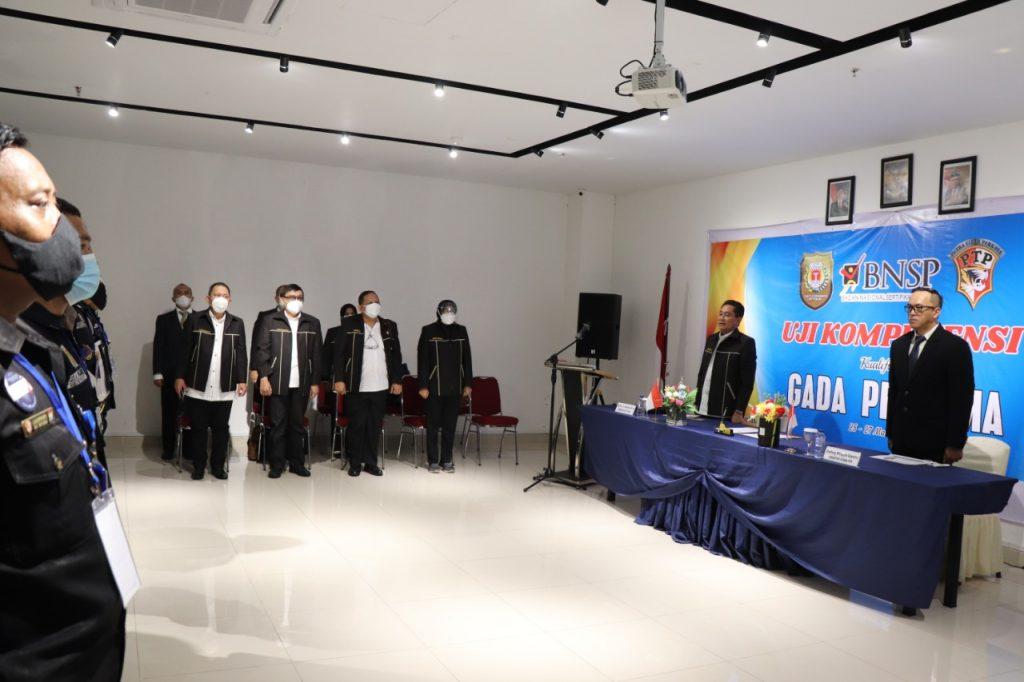 Uji Kompetensi Gada Pratama di Batam - Putra Tidar Perkasa bekerjasama dengan LSP P-2 Sekuriti PP Polri (4)