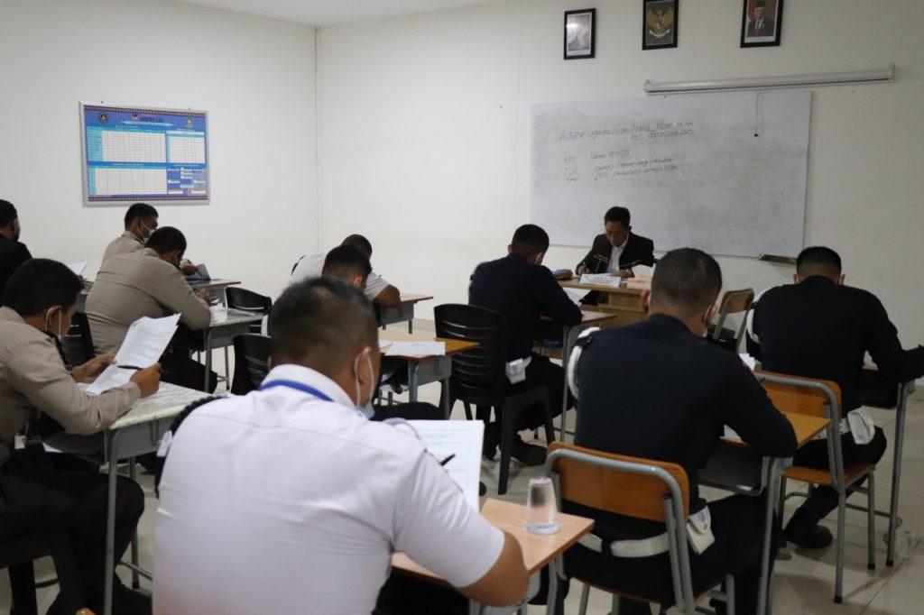 Uji Kompetensi Gada Pratama di Batam - Putra Tidar Perkasa bekerjasama dengan LSP P-2 Sekuriti PP Polri (5)