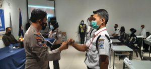 PTP Training Center Luluskan 63 Satpam Kualifikasi Gada Pratama LVIII