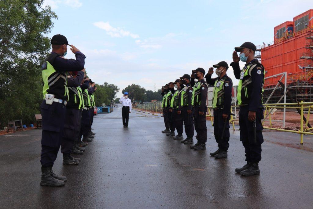 Pelaksanaan Uji Petik Uji Kompetensi Kualifikasi Gada Pratama - LSP P-2 Sekuriti PP Polri -  (1)
