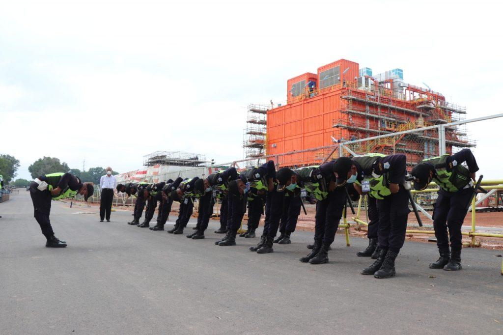 Pelaksanaan Uji Petik Uji Kompetensi Kualifikasi Gada Pratama - LSP P-2 Sekuriti PP Polri -  (3)