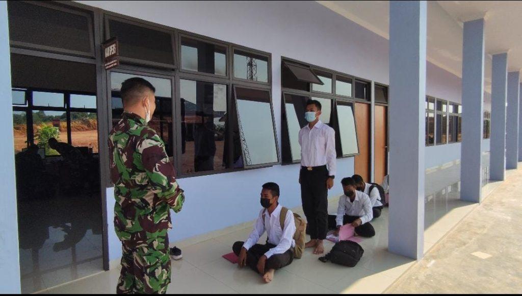 5 personel PTP ikuti Penerimaan Casis Tamtama TNI AU