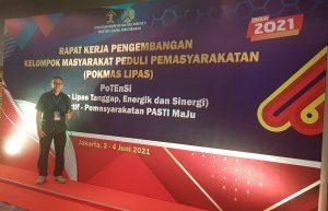 Read more about the article KONSISTEN AKAN PROGRAM ASIMILASI WARGA BINAAN, PTP HADIRI RAKERNAS POKMAS LIPAS KEMENKUMHAM RI DI JAKARTA