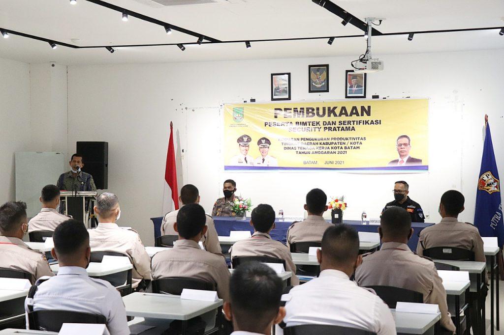 Pelatihan Disnaker Kota Batam Gada Pratama bersama LPK Putra Tidar Perkasa -  (2)