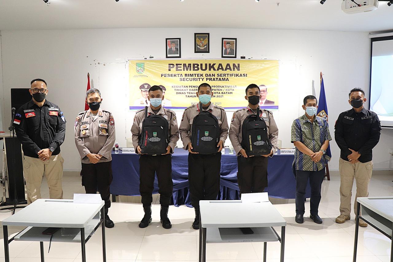 Read more about the article Dipercaya Kembali Oleh Disnaker, PTP Buka Bimtek Satpam