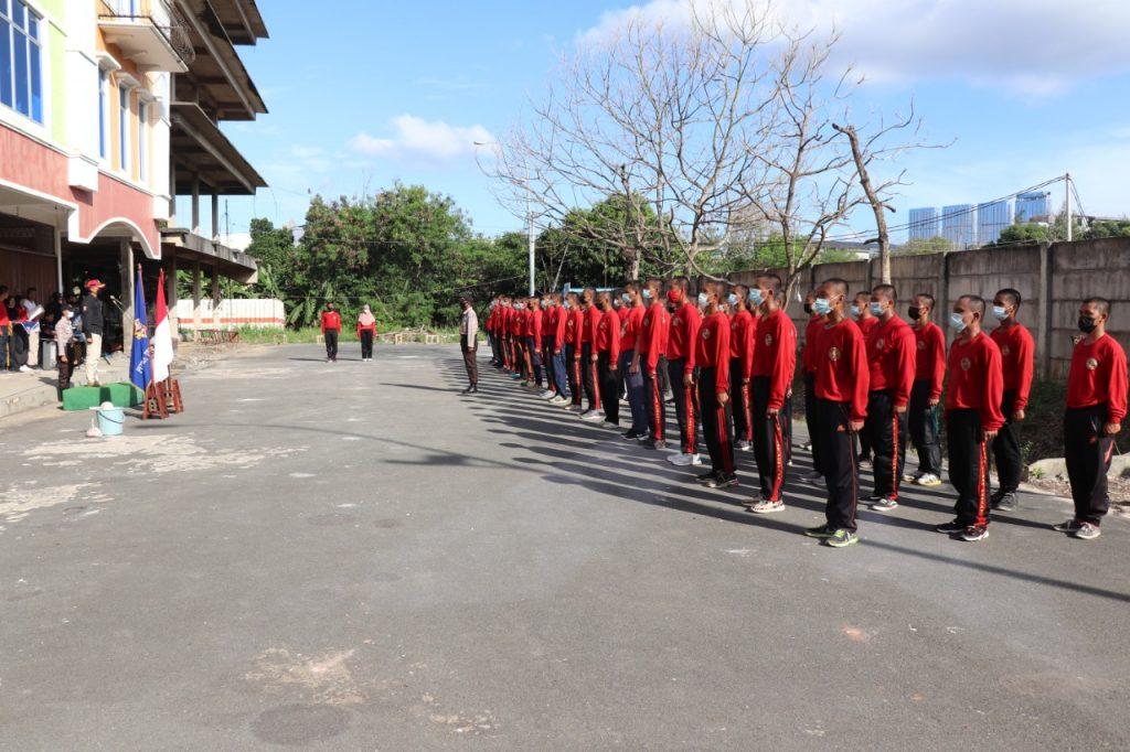 Penutupan Diktuk Satpam angkatan LIII - Putra Tidar Perkasa -  (4)