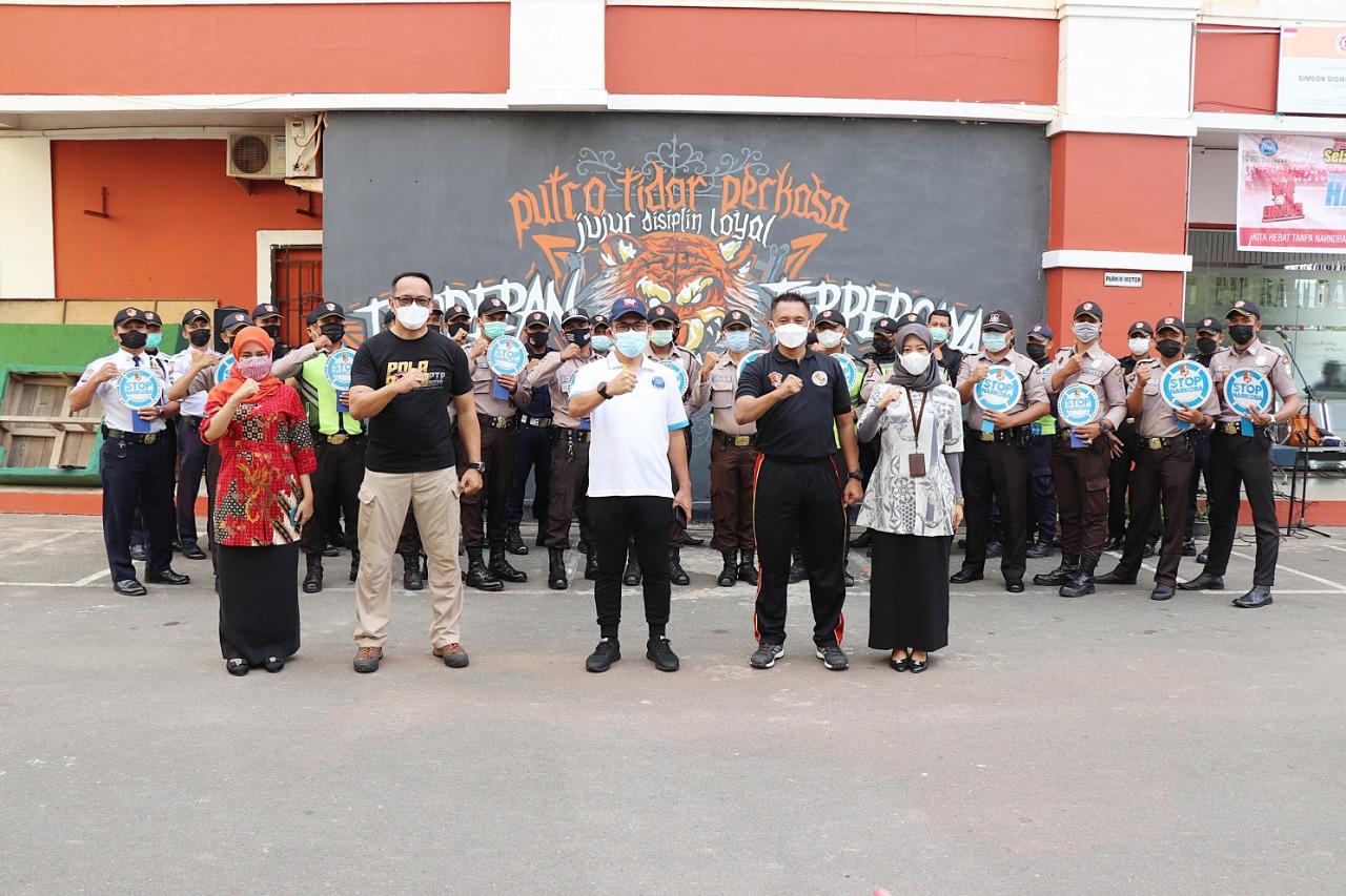 Read more about the article Kampanye War On Drugs, Kepala BNNP Kepri sambangi PTP