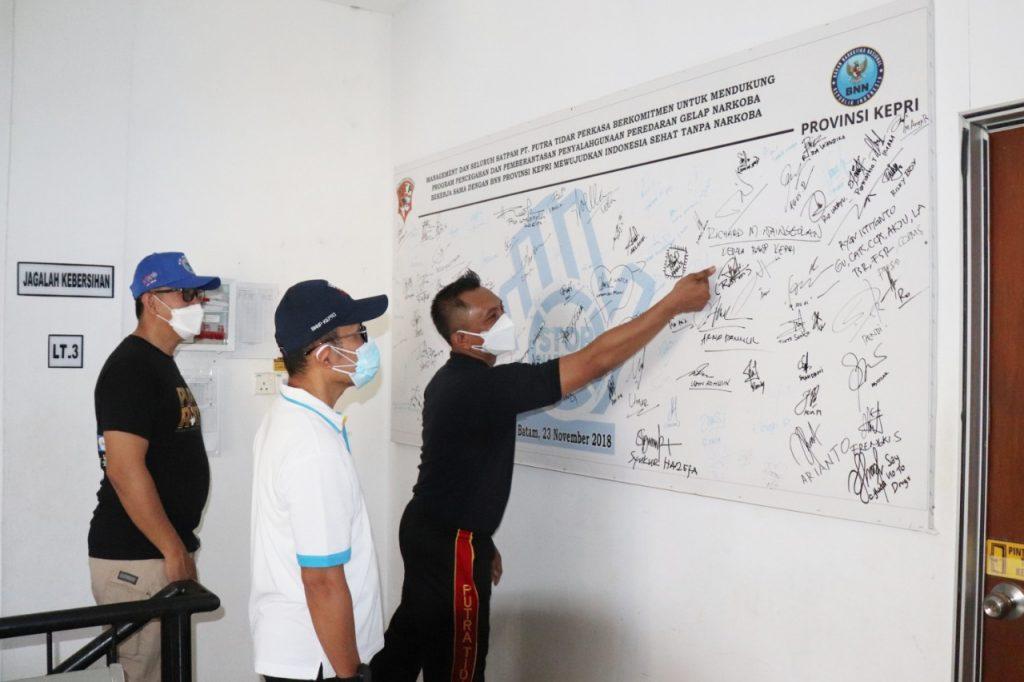 Program P4GN dari BNNP Kepri - Putra Tidar Perkasa -  (4)
