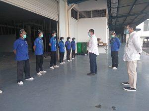 Read more about the article Bangun Kekompakan, PTP berikan Rutin Briefing Pagi kepada Tenaga Kerjanya