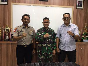 Read more about the article Perkuat komunikasi, Pimpinan PTP terima kunjungan Dandim Batam