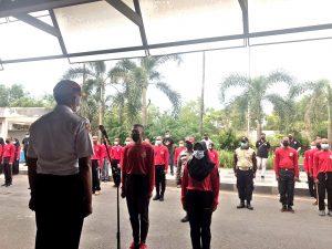 Read more about the article Lahirkan Para Satpam Handal, PTP Adakan Diktuk angkatan LIV